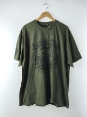 Tシャツ/--/コットン/カーキ