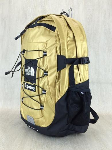 5aed51b8c Supreme(シュプリーム)×THE NORTH FACE(ザノースフェイス) / 18ss/Supreme The North Face  Metallic Borealis Backpack GOLD | セカンドストリート|衣類・家具・家電 ...
