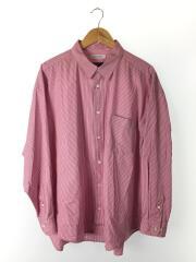 20SS/BALLONシャツ/MONTI/長袖シャツ/M/コーデュロイ/RED/ストライプ