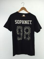 バンダナナンバリングTシャツ/Tシャツ/M/コットン/BLK/SOPH-180111