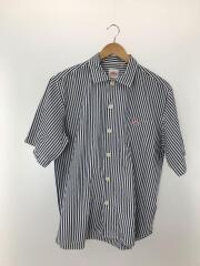 半袖シャツ/42/コットン/ストライプ/18S-WS-006