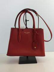 EVA SMALL SATCHEL/2wayショルダーバッグ/--/RED/WKRU5697