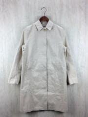 ライナー付ステンカラーコート/36/コットン/COTTON BONDED/BEG/