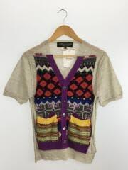 セーター(薄手)/S/ウール/マルチカラー/無地/PE-N004/AD2009/パッチワーク