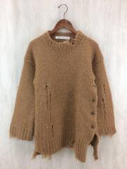 セーター(厚手)/FREE/ウール/CML/無地