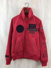 ナイロンジャケット/M/ナイロン/RED/無地