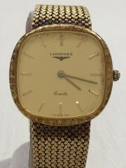 クォーツ腕時計/アナログ/GLD/GLD/変色あり/22160190