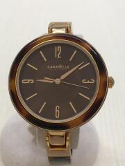 caravelle/キャラベル/Bulova/ブローバ/クォーツ腕時計/44L137/C4343034