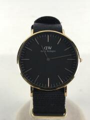 ダニエルウェリントン/CLASSIC BLASK/クラシックブラック/クォーツ腕時計/DW0010148