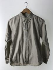 ステュディオス/長袖シャツ/ボタンダウンシャツ/2/コットン/BEG
