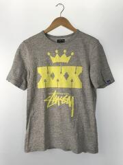ステューシー/XXXプリントTシャツ/30周年/M/コットン/GRY