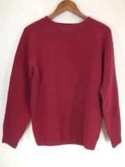 セーター(厚手)/38/ウール/RED