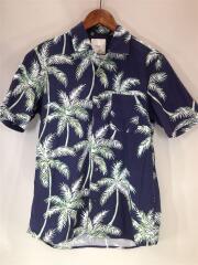 18SS/ヤシの木アロハ/オープンカラーシャツ/18-051-300-5000-1-0/アロハシャツ/L