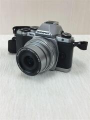 デジタル一眼カメラ OLYMPUS OM-D E-M10 EZダブルズームキット [シルバー]