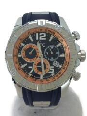 GC/Sport Racer/Y02010G7/クォーツ腕時計/アナログ/ラバー/NVY