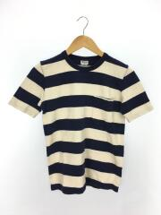 【Tieasy Authentic Classic】/Tシャツ/1/コットン/NVY/ボーダー