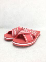 サンダル/36/RED/PVC