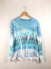 長袖Tシャツ/S/BLU