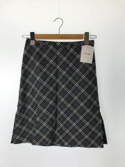 バーバリーズ/スカート/36/ウール/GRY/チェック