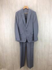 スーツ/LL/ウール/GRY/3ピース/ブーツカット
