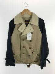 Short trench coat/3/コットン/BEG/US0399