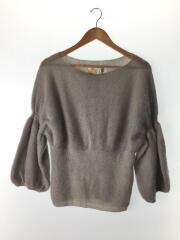 セーター(厚手)/--/モヘア/GRY/TK120404