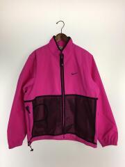 17AW/Trail running jacket/921635-640/L/ナイロン/PNK/ナイロンジャケット
