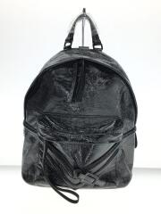 LE-ZIPPER BACKPACK/牛革/BLK/タグ付