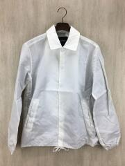 15FW/ナイロンコーチジャケットジャケット/S/ナイロン/WHT/GKL-5592