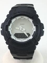 URBAN RESEARCH別注/箱付/クォーツ腕時計/デジアナ/ブラック/黒/G-100