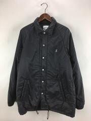 19AW/Padding Coah Jacket/M/ナイロン/BLK/GUJK-19F034