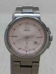 LUKIA/ルキア/クォーツ腕時計/アナログ/ステンレス/PNK/7N8E-6E00