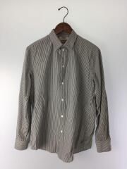 19AW/エディスリマン期/ドレスシャツ/長袖/39/コットン/ホワイトxネイビー/20ZX1912C