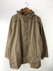 コート/XL/コットン/BEG/中古/HOODED COAT