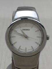 クォーツ腕時計/1n01-0j30/アナログ/ステンレス/WHT/SLV