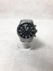 クォーツ腕時計/アナログ/ステンレス/BLK/SLV/FS5141