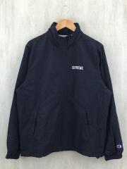 18SS/×CHAMPION/TRACK JKTナイロンジャケット/M/ナイロン/BLK/トラックジャケット