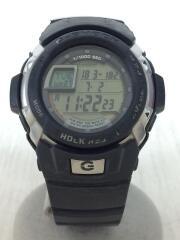 G-SHOCK/クォーツ腕時計/デジタル/ラバー/GRY/G-7700