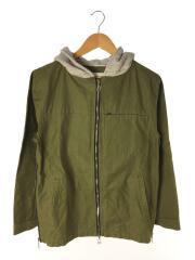15AW/hooded jacket/ジャケット/1/コットン/GRN/Jie-15W-JK05