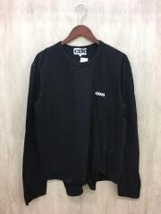 AD2018/変形/長袖Tシャツ/XL/コットン/BLK/SZ-T015