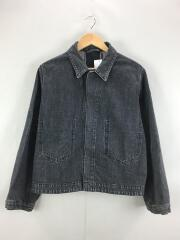 BIG G-JAN -13oz selvage denim/Gジャン/M/コットン/BLK/BE-31504