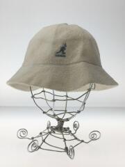 BERMUDA CASUAL BUCKET HAT/バケットハット/L/アクリル/WHT/0397BC