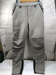 15AW/YAK Flea Market Pants/スウェットパンツ/3/コットン/GRY/SNS-15A43