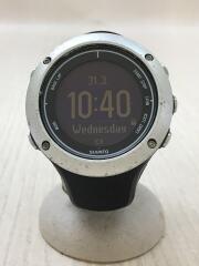 AMBIT2/腕時計/デジタル/ラバー/BLK/BLK/キズ多