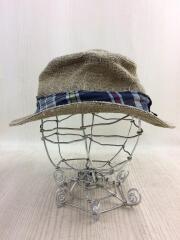 ストローハット/M/BEG/ハット/帽子