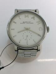 クォーツ腕時計/アナログ/ステンレス/WHT