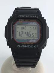 ソーラー腕時計/デジタル/ラバー/BLK/カシオ/G-SHOCK/ジーショック/GW-M5610/メンズ