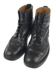 COUNTRY BOOT/MADE IN ENGLAND/ブーツ/--/BLK/レザー