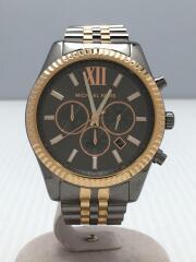 クォーツ腕時計/アナログ/ステンレス/MK8561/LEXINGTON/コマなし