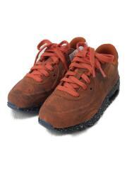 AIR MAX 90 BP QS/キッズ靴/17cm/スニーカー/オレンジ/CD6489-600